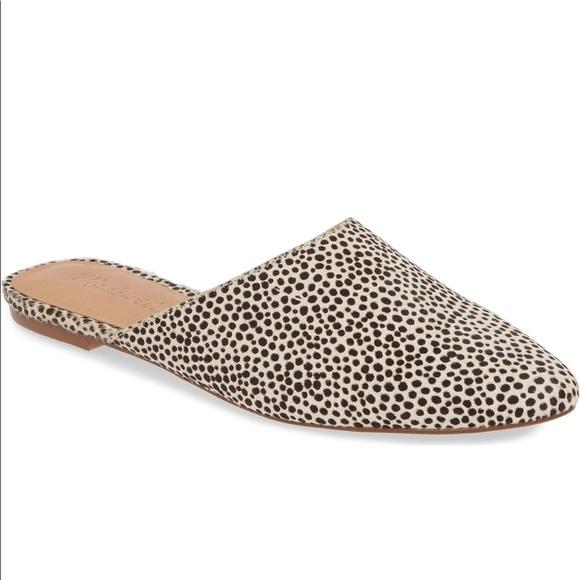 Madewell Remi Leopard Cheetah Calf Hair